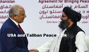 Photo of USA and Taliban Peace Talk Affects on World Economy